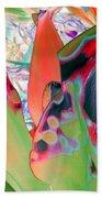 Abstracted Leaf Patterns #1  Ref. Dp67  Bath Towel