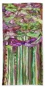 Dragonfly Bloomies 2 - Pink Bath Towel