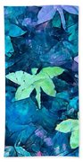 Dragonfly Blues Bath Towel