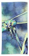 Dragonfly II Bath Towel