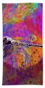 Dragonfly Insect Close Wing  Bath Towel