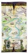 Dragons Of The World Bath Towel