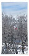 Drapeau Canadien / Canadian Flag Bath Towel