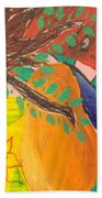 Dreaming Tree Abstract Bath Towel