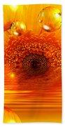 Dreams 2 - Gerbera Sunrise Bath Towel