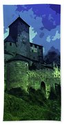 Dreary Fortress Hand Towel