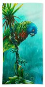 Drenched - St. Lucia Parrot Bath Towel