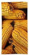 Dried Corn Cobs Bath Towel