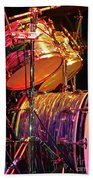 Drum Set Bath Towel