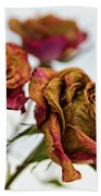 Dry Roses Bath Towel
