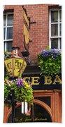 Dublin Ireland - Palace Bar Bath Towel