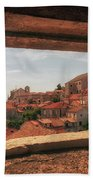 Dubrovnik City In Southern Croatia Bath Towel