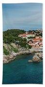 Dubrovnik Panorama Bath Towel