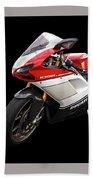 Ducati 1098s Motorcycle Bath Towel