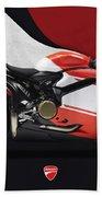 Ducati 1299 Superleggera Hand Towel