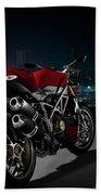 Ducati By Moonlight Bath Towel
