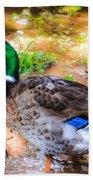 Duck On The Lake 2 Bath Towel