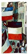 Dufy: Flags, 1906 Bath Towel