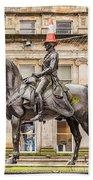 Duke Of Wellington Statue Bath Towel