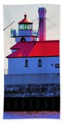 Duluth Lighthouse Bath Towel