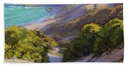 Dunes At Soldiers Beach Hand Towel