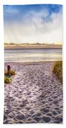 Dunes At The Pier Bath Towel