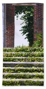 Dungeness Front Steps  Hand Towel