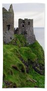 Dunluce Castle II Bath Towel