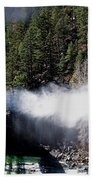 Durango Silverton Blowing Off Steam Bath Towel