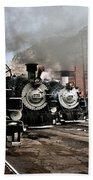 Durango - Silverton Railroad Bath Towel