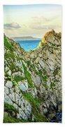 Durdle Dore - Ocean Rock Formation Bath Towel
