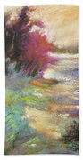Dusk Over The Marshes Hand Towel