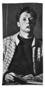Dylan Thomas (1914-1953) Bath Towel