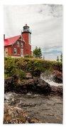 Eagle Harbor Lighthouse Bath Towel