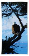 Eagle - Mt Baker - Eagles Nest Bath Towel