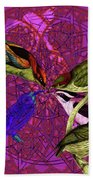 Early Bird Solar Energy Bath Towel by Joseph Mosley