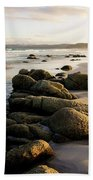 Early Morning At Friendly Beaches Bath Towel