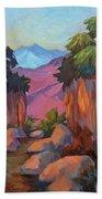 Early Morning At Indian Canyon Bath Towel