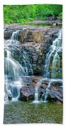 Early Morning At The Upper Falls Bath Towel