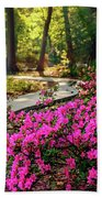 Early Morning In Honor Heights Park Bath Towel