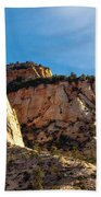 Early Morning In Zion Canyon Bath Towel