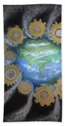 Earth #1 - You Are Here Bath Towel