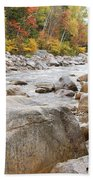 East Branch Of The Pemigewasset River - White Mountains New Hampshire Usa Bath Towel