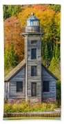 East Channel Lighthouse Hand Towel