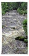 East Lyn River Bath Towel