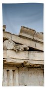 East Pediment - Parthenon Bath Towel