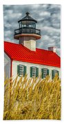 East Point On The Maurice River  Bath Towel
