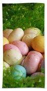 Easter Egg Nest Bath Towel