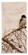 Eastern Kingbird Bath Towel
