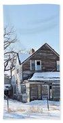 Eastern Montana Farmhouse Bath Towel